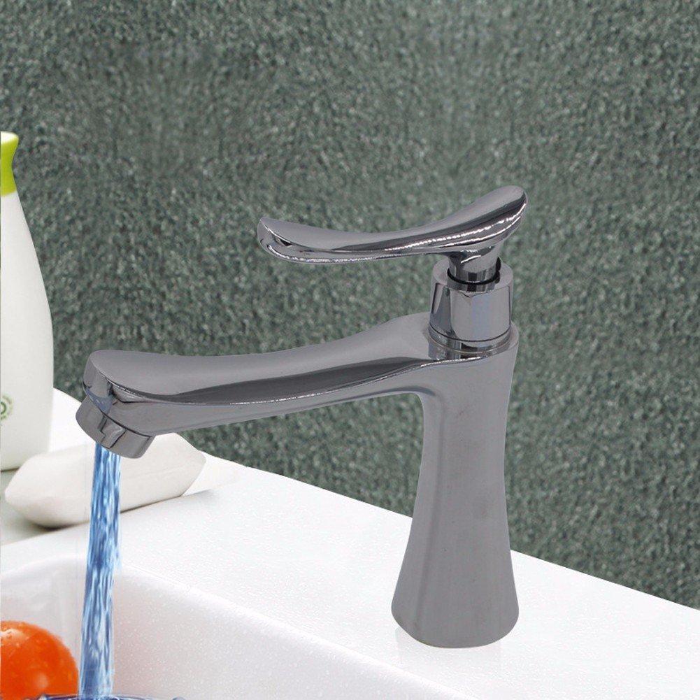 Meuble Salle De Bain Bas Bois ~ zhji une main bassine robinet haute qualit de zinc alliage