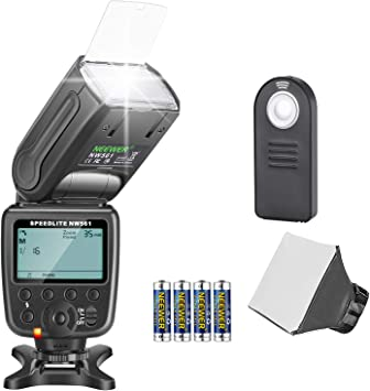 Neewer NW-561 Kit flash Speedlite para Canon Nikon Cámara réflex ...