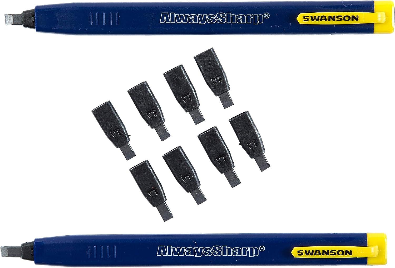 Swanson Tool AlwaysSharp Refillable Mechanical Carpenter Pencil