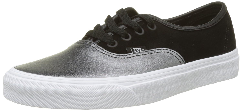 Vans Authentic Seasonal Leather, Zapatillas para Mujer 37 EU|Varios Colores (2-tone Metallic/ Black/True White)