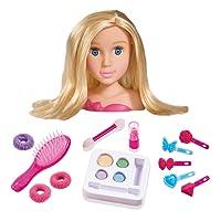 Simba - 105560029 - Tête à Coiffer - Steffi Love Girls - Maquillage