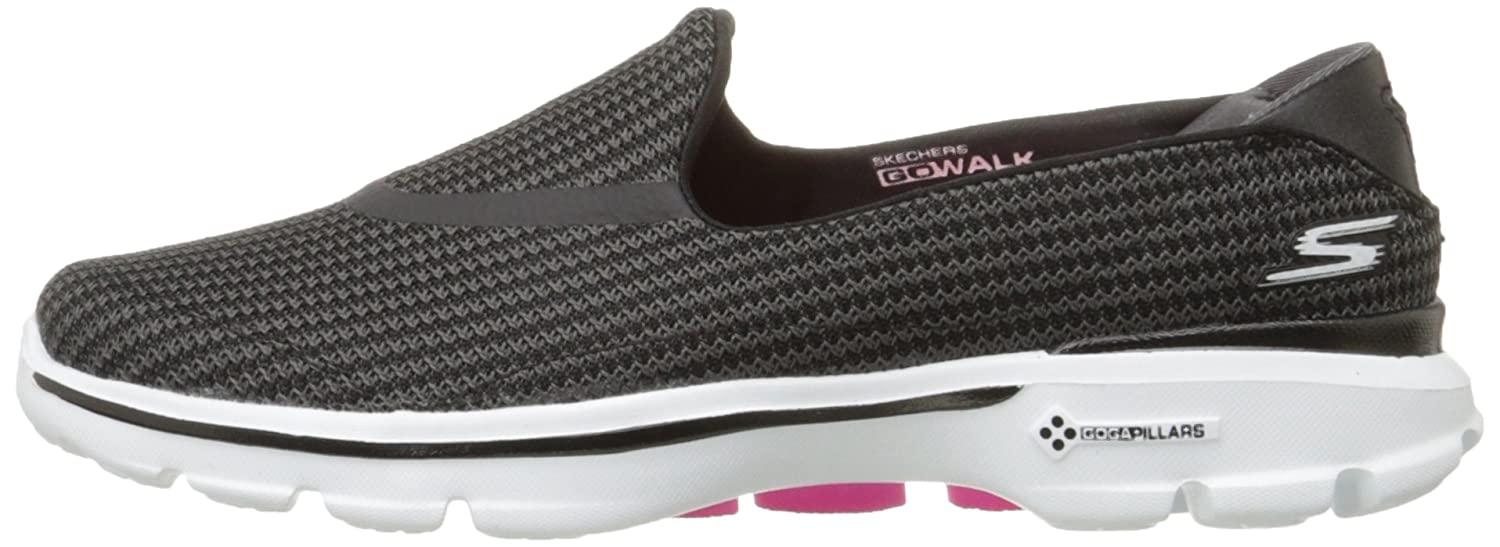 Skechers Performance Women's Go Walk 3 Slip-On Walking US|Black/White Shoe B00LL2OIY0 9 XW US|Black/White Walking bef339