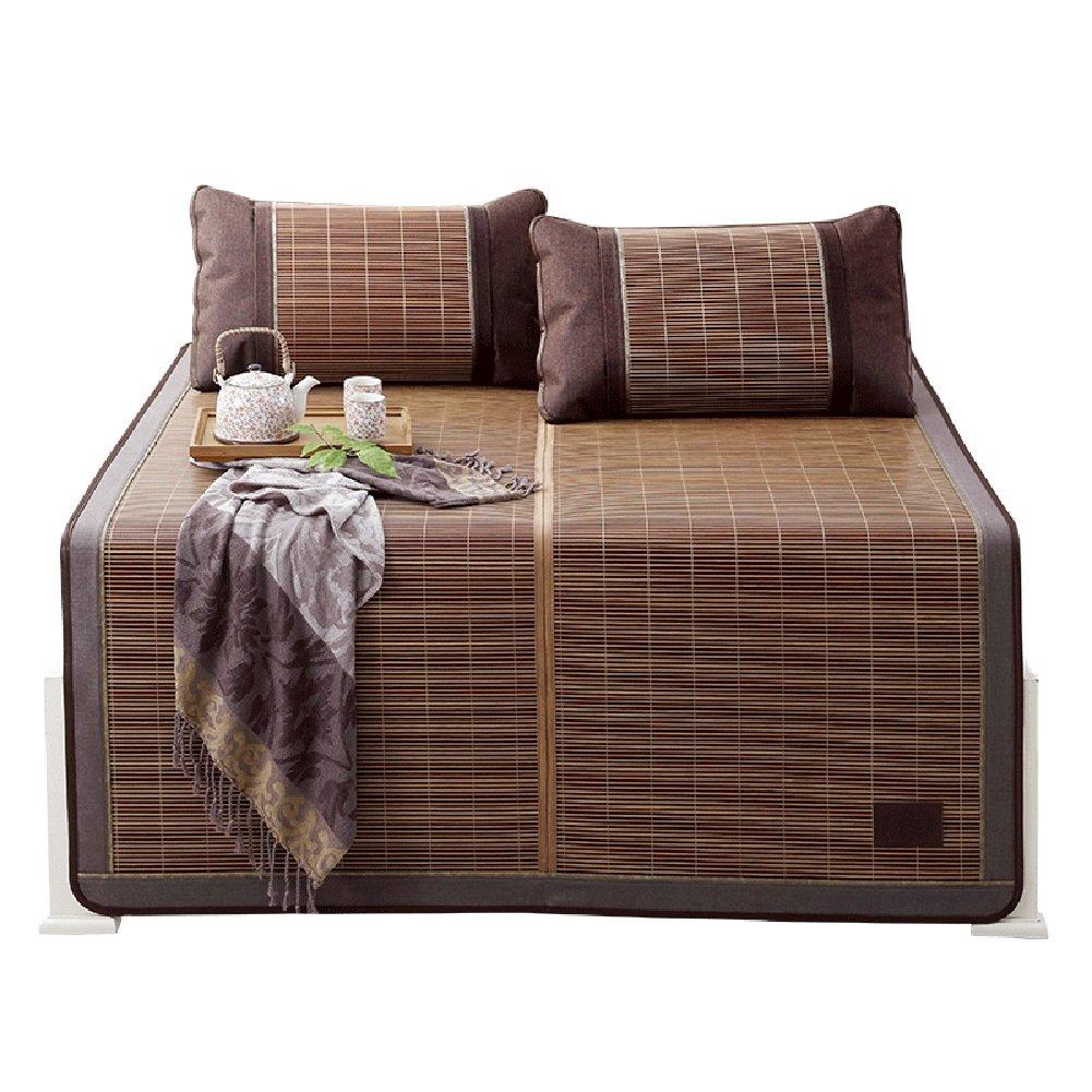 WENZHE Bambus Matratzen Sommer-Schlafmatten Strohmatte Teppiche Falten Sie Den Typ Beidseitig Glatt Zuhause Schlafzimmer Multifunktion, 7 Größen