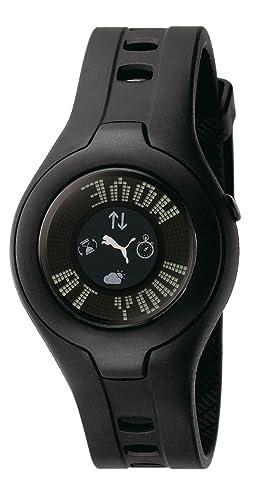 reloj puma mujer negro