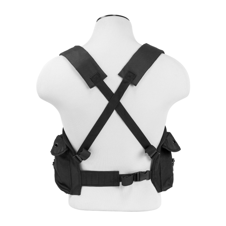 ATG Tactical AK Chest Rig 7.62x39mm Magazine Pouches Vest Utility Pouches Adjustable MOLLE