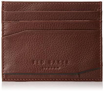 af6912abb Amazon.com  Ted Baker Men s Coloured Leather Card Holder  Clothing
