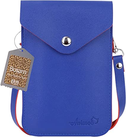 Cards Blue Messenger Bag Small Swimming Purse Handy for Wallet