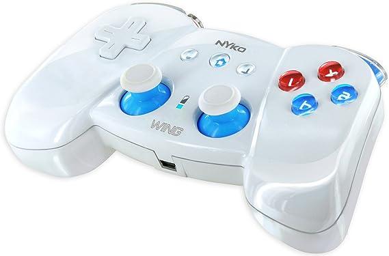 Nyko Wing - Volante/mando (Mando de juegos, Wii, Inalámbrico, USB, 30 h, 2xAAA): Amazon.es: Videojuegos
