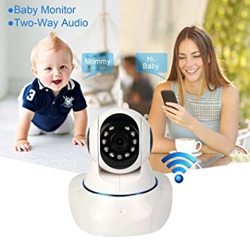 Amazon.com: Peekaboo bebé HD IP 960P Video Baby Monitor ...