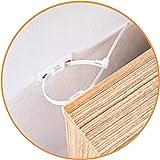 KareKlub Anti Tip Furniture Straps Pack 06 | Adjustable Baby Proofing Furniture Anchors Adjustable | Pet and Child Safety Kit