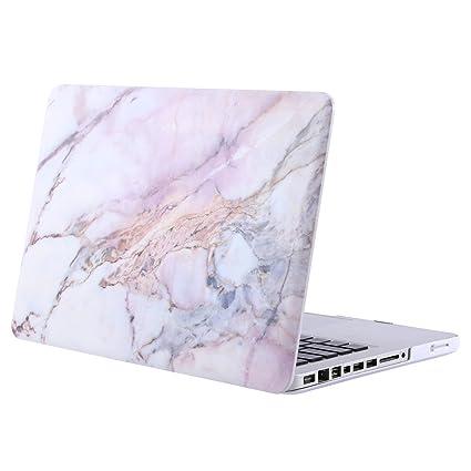 MOSISO Funda Dura Compatible con MacBook Pro 13 Pulgadas con CD-ROM A1278 (Versión 2012/2011/2010/2009/2008), Ultra Delgado Carcasa Rígida Protector ...