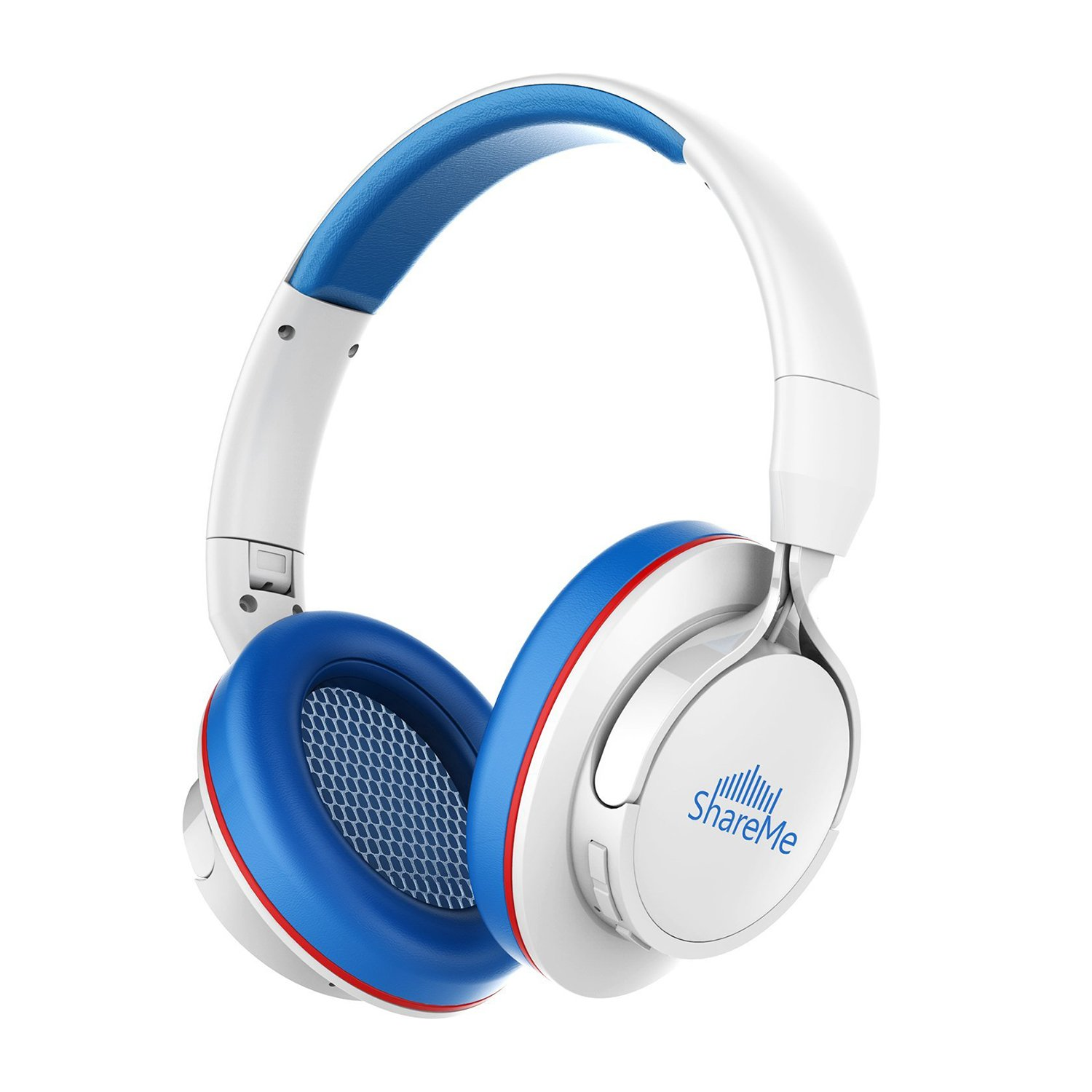 7b0a24d8d8f [CNET's Pick] Over-Ear Bluetooth Headphones,Mixcder® ShareMe Wireless Music  Stereo Sports/Running Foldable Headset Volume Control with Built-in Noise  ...