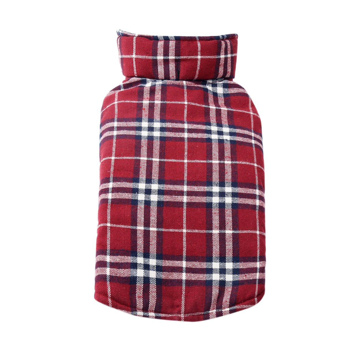 RED1 Medium RED1 Medium Adorrable Windproof Reversible Pet Coat Cozy Cats Winter Verlco Fleece Patterned Dog Coats, Red, Medium