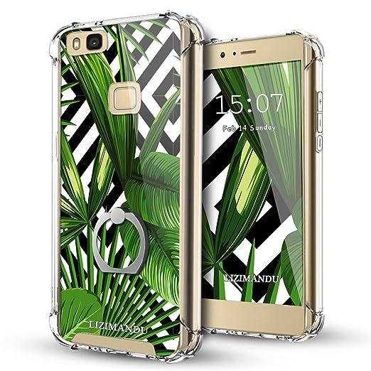 3 opinioni per Cover Huawei P9 Lite,Trasparente per Huawei P9 Lite- Lizimandu 360 Grado Grip