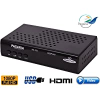PAGARIA Full HD Portable Media Player with 2 USB Ports, Model: HD-102