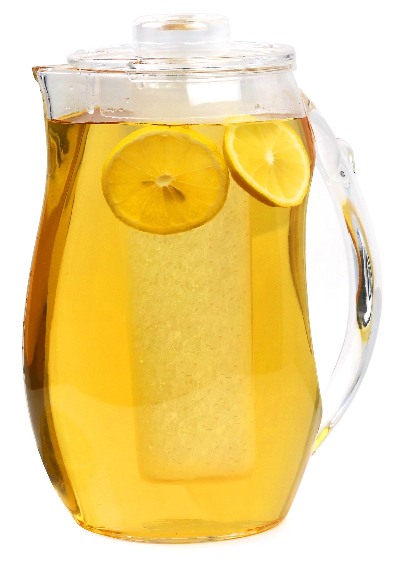 Estilo Acrylic Fruit Infusion Pitcher with Ice Core 2 Liter (72 oz/2.1 quart) by Estilo (Image #1)