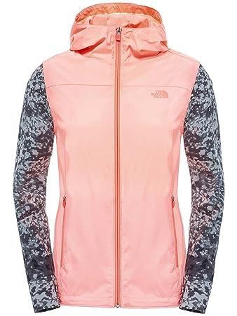 9f5bb89c0 North Face Women's Mestral Hoodie EU Wind Jacket - Orange/Neon Peach ...