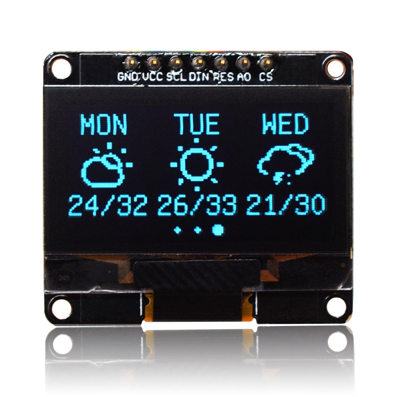 MICROYUM 1 3 Inches SPI OLED Screen Display Module Arduino Esp8266