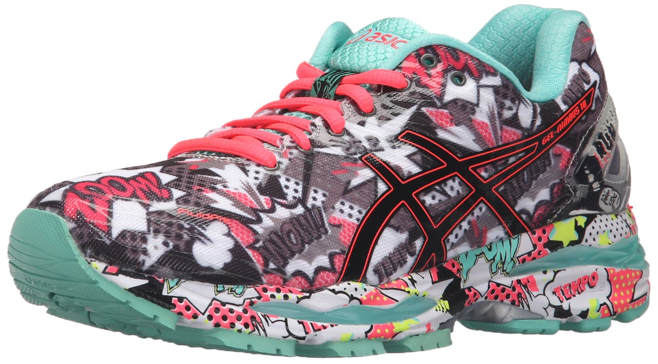 ASICS Women's Gel Nimbus 18 Running Shoe, CarbonBlack