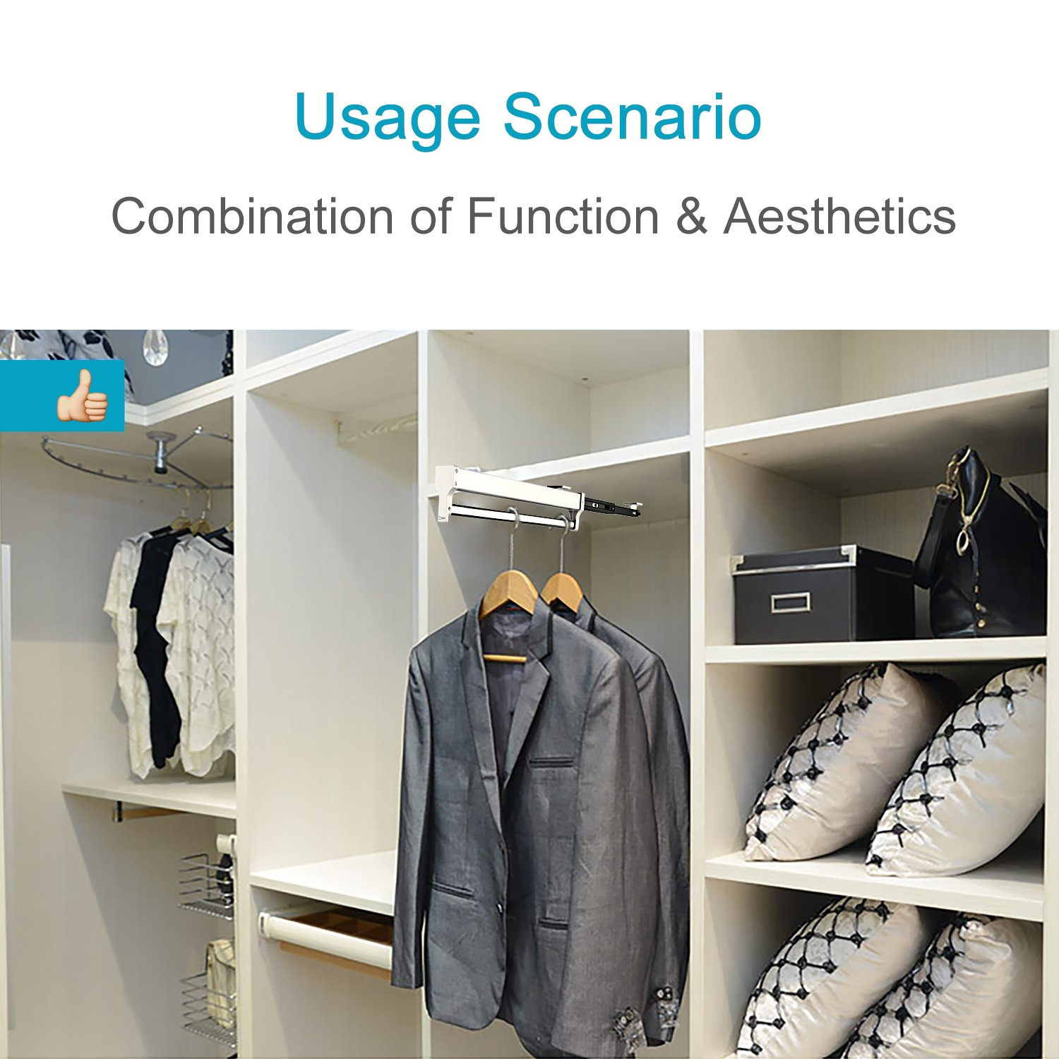 to by corner reach one closets is very can pants mean tidy two my shelves have category so addition well long closet i the also in rack racks of level everything accessible