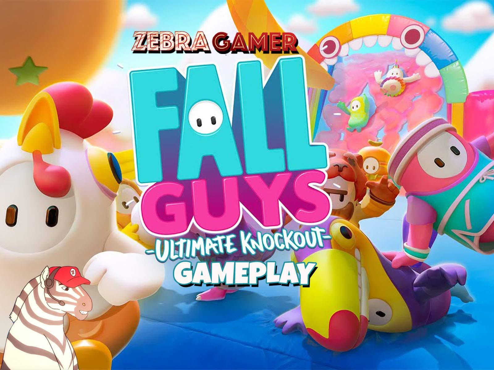 Clip: Fall Guys Ultimate Knockout Gameplay - Zebra Gamer - Season 1