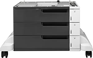 HP CF242A Three-Tray Sheet Feeder and Stand for Laserjet 700 Series
