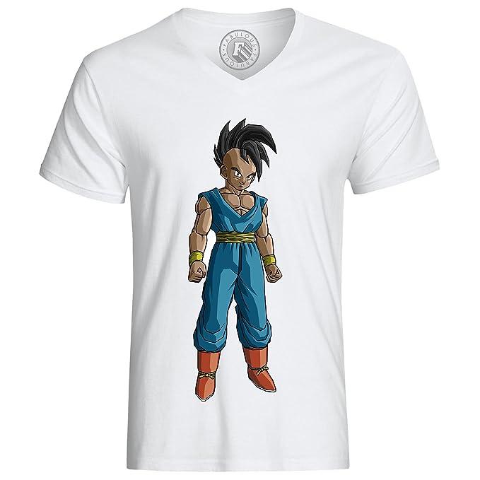 Camiseta Dragon Ball Z uub Oob dbgt Dbz Anime Japan Blanco blanco: Amazon.es: Ropa y accesorios