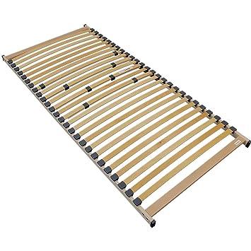 Somier de Listones de Madera para colchones Rubí 90 x 200 cm - 26 Listones estables y Flexibles - Montaje Sencillo, Resistente hasta 120 kg: Amazon.es: ...