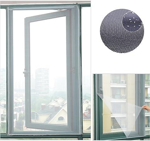 Mosquitera magnética para ventana, mosquitera Invisible y tallado con velcro para protección de insectos 150?x 130?cm: Amazon.es: Bricolaje y herramientas