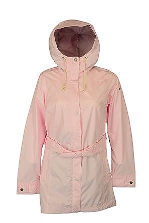 Columbia Women's Pardon My Trench Rain Jacket, Whitened Pink, X-Small