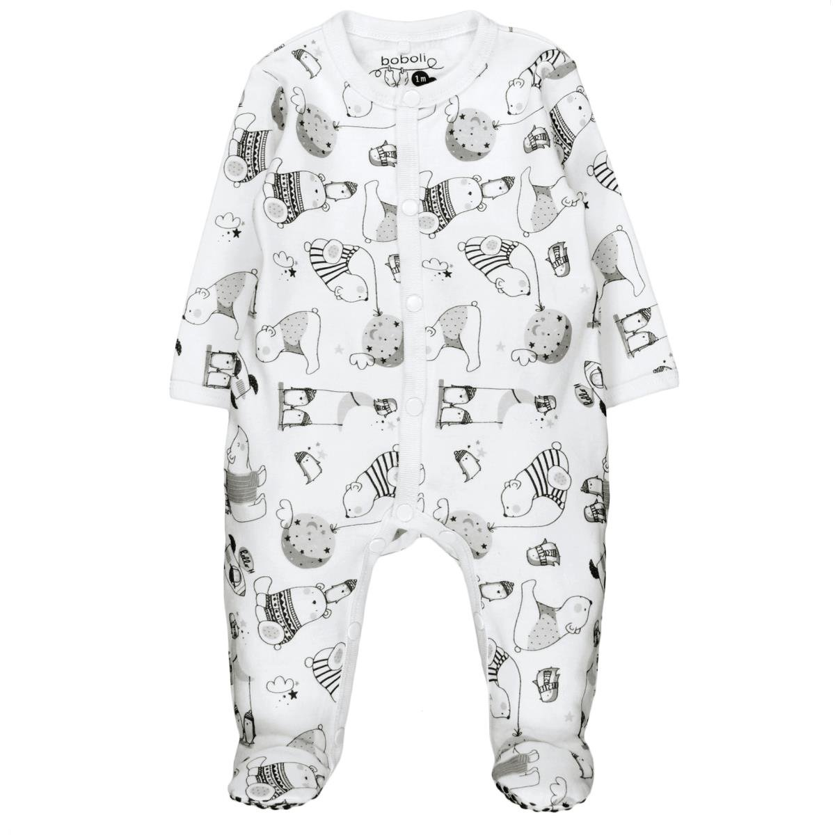 boboli Interlock Play Suit FOR Baby, Pelele para Bebé-Niños 132095