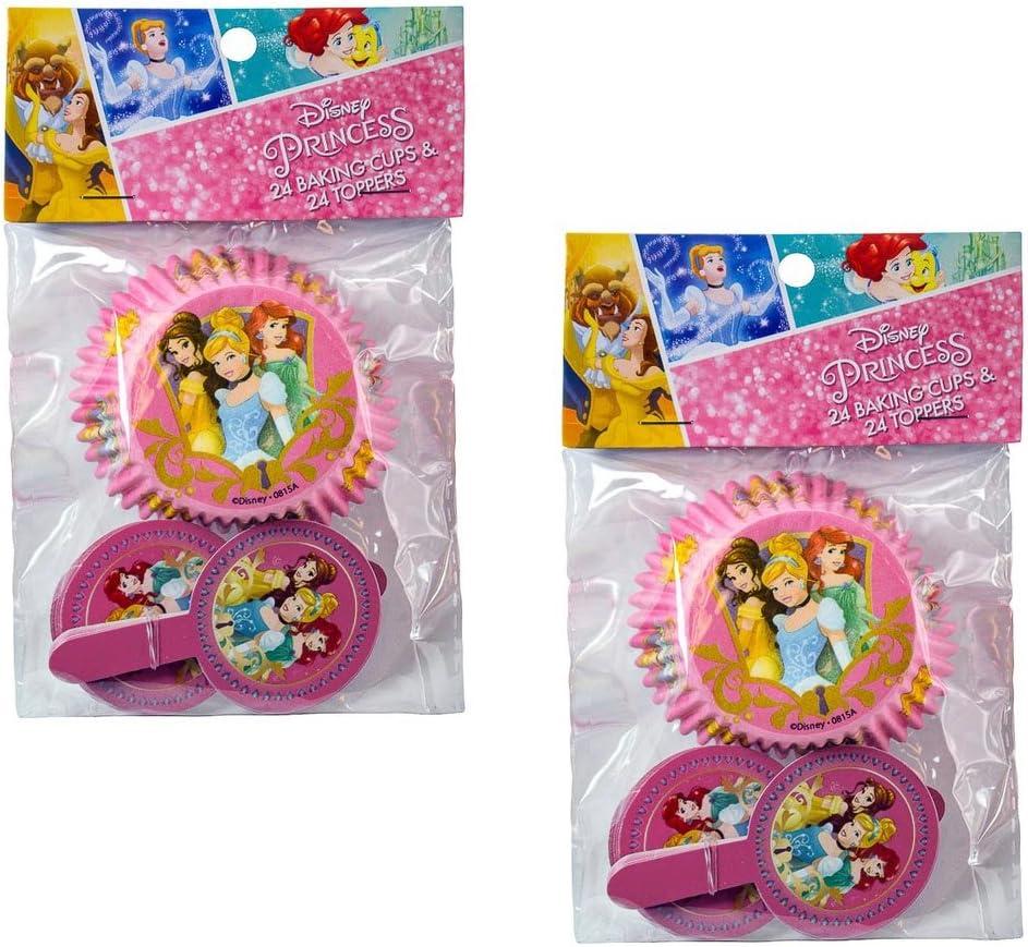 2-pack Disney princesa Belle, Ariel, Cenicienta 24 moldes para ...