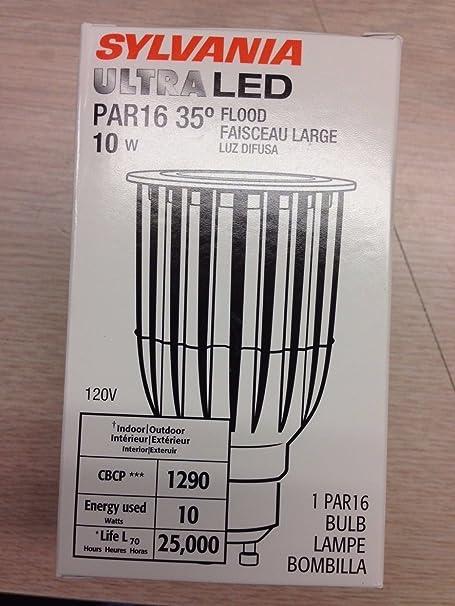 Amazon.com: Sylvania 78896 LED10PAR16/GU10/DIM/830/FL35 Dimmable LED Lamp: Home Improvement