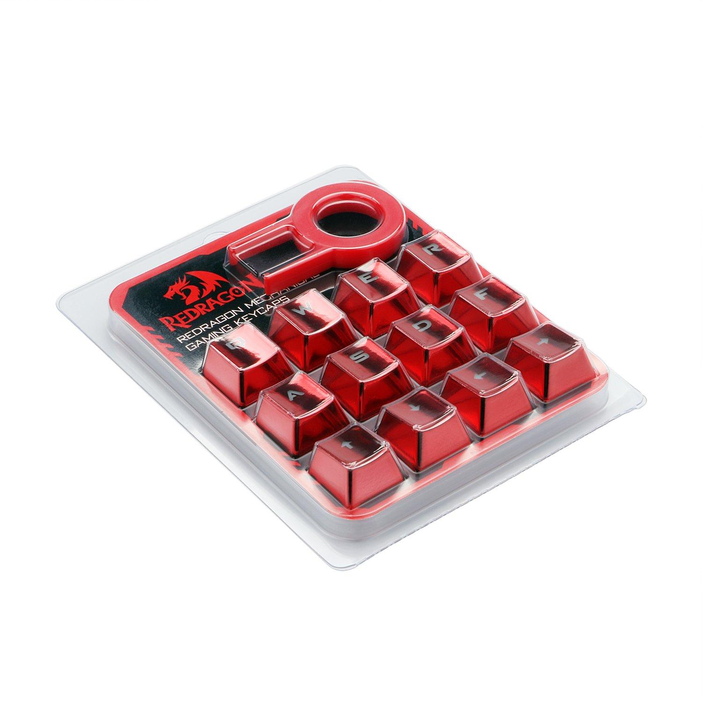 redr Snapdragon botón - Juego de capuchones con extractor biselada para gaming mecánica teclado: Amazon.es: Electrónica