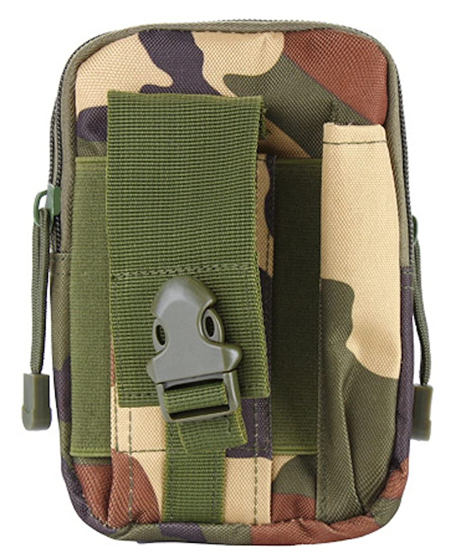Moon Market Multipurpose Outdoor Sports Tactical Waist Belt Bag Military Smartphone case Gadget Case Survival game