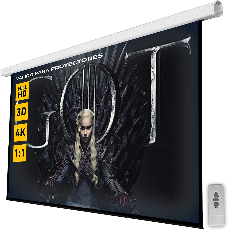 Phoenix Technologies Pantalla proyector electricas (3 x 3m ...