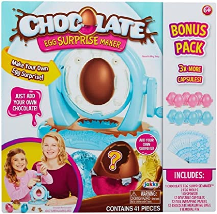 Chocolate Egg Surprise Maker Toy NEW