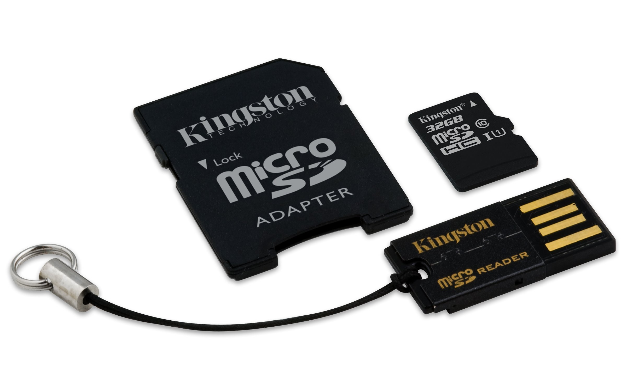 Kingston Digital Mobility Kit Includes 32 GB Flash Memory Card Reader (MBLY10G2/32GB) by Kingston (Image #3)