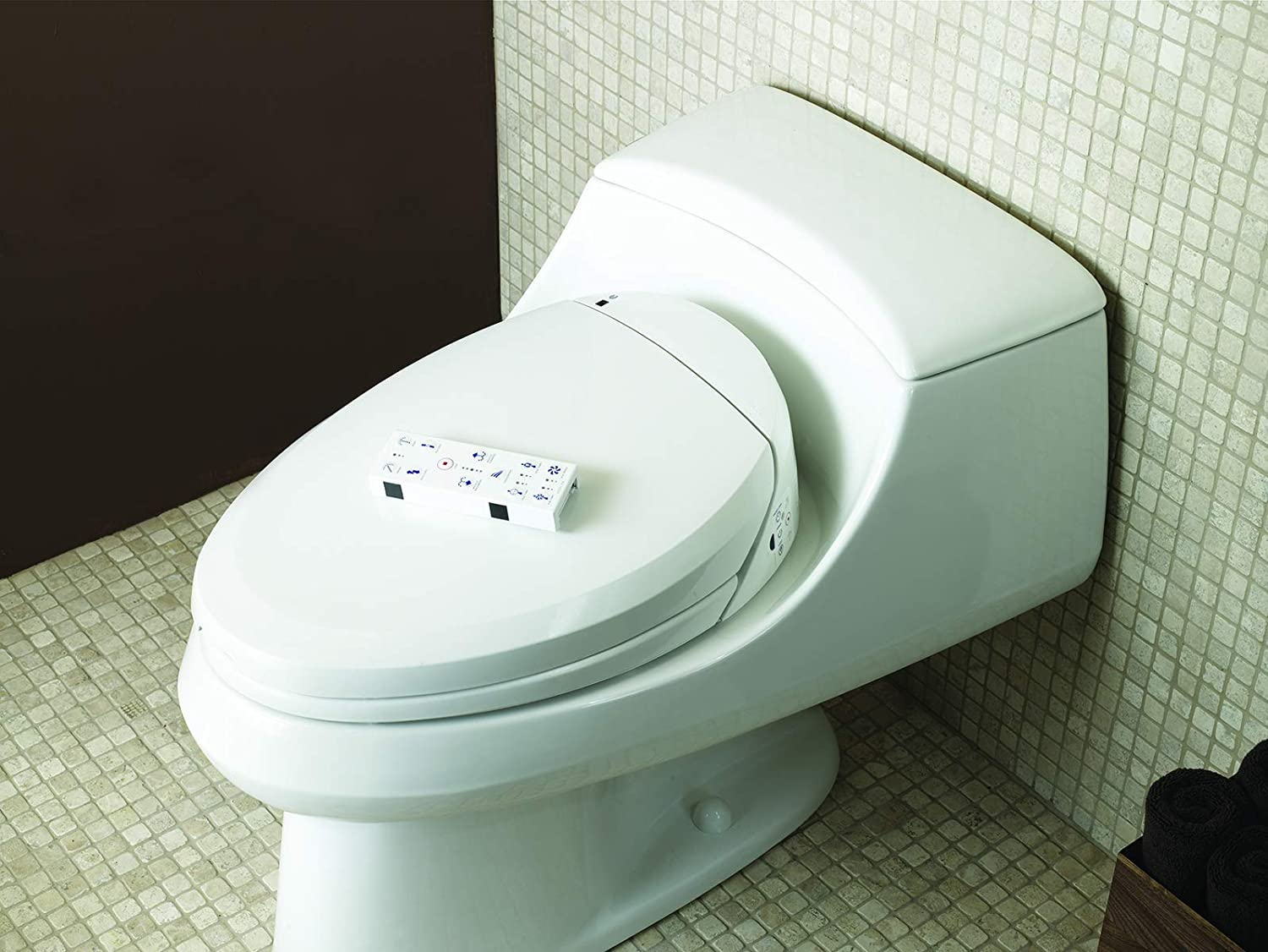 Kohler K 4709 0 C3 200 Elongated Warm Water Bidet Toilet Seat White With Quiet Close Lid And Seat Automatic Deodorization Adjustable Water Temperature Nightlight Heated Seat Warm Air Dryer Amazon Com