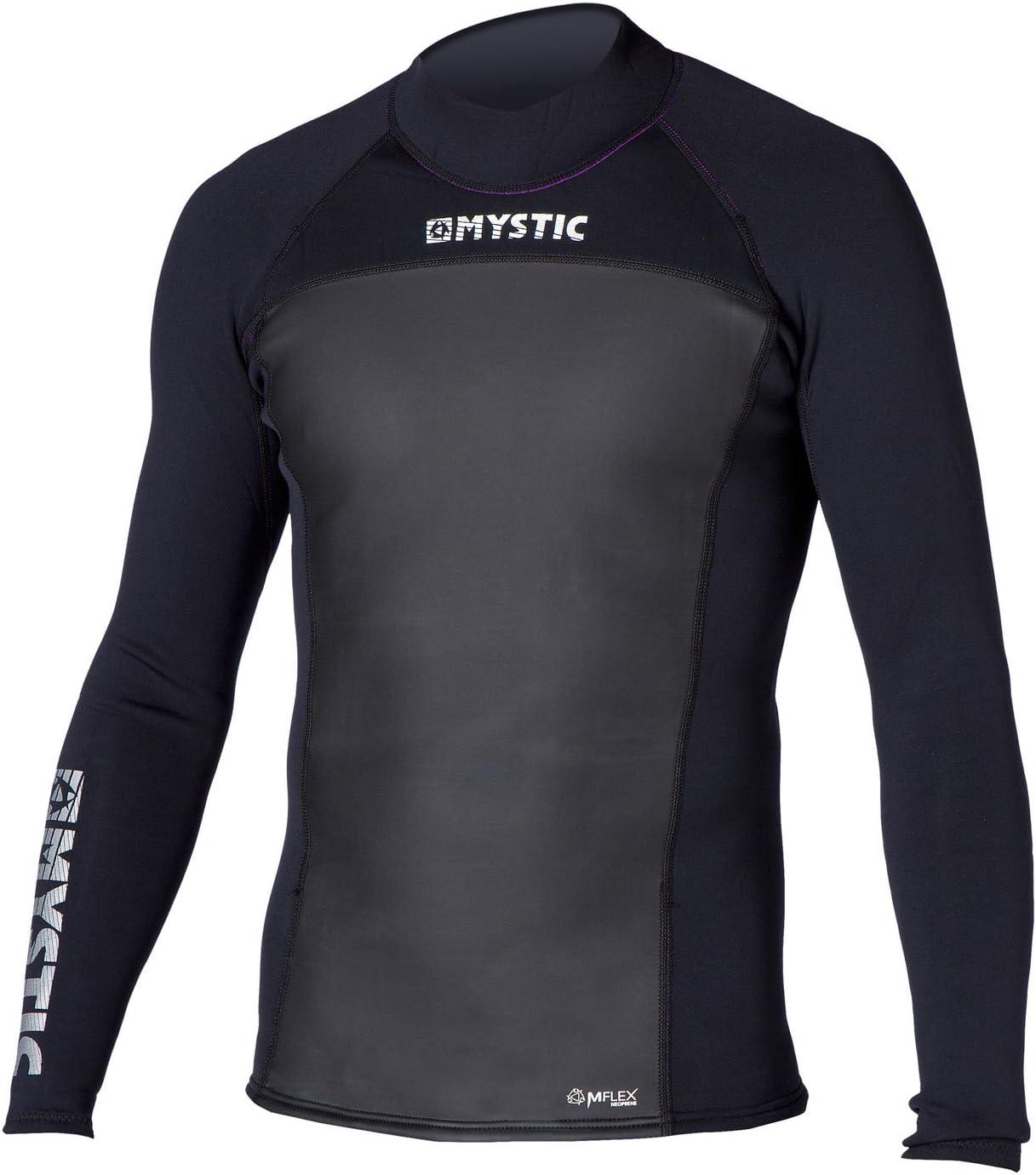 Mystic 2018 Star 2mm Neoprene Long Sleeve Top Black 140255