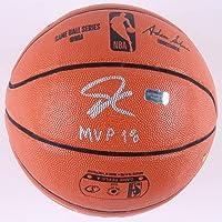 $149 » Giannis Antetounmpo Milwaukee Bucks Signed Autograph NBA Game Basketball MVP 18 Inscribed Certified