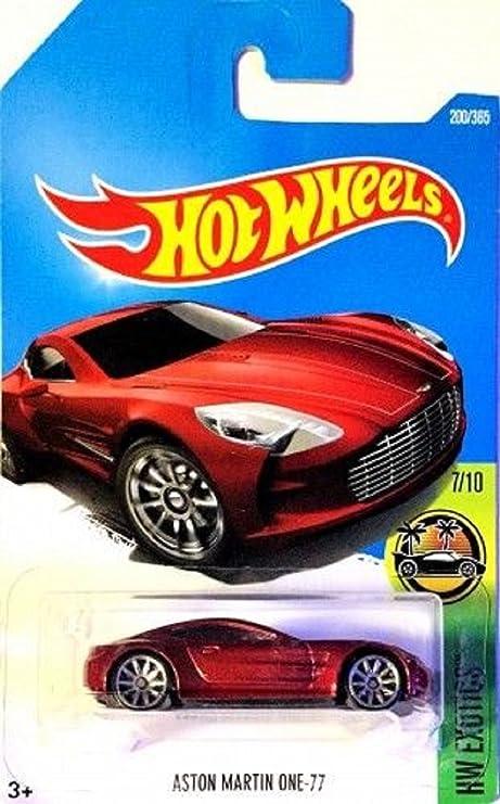 Buy Hot Wheels 2017 Hw Exotics Aston Martin One 77 200 365 Online At