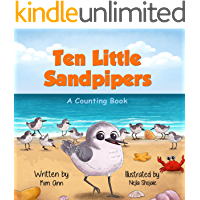 Ten Little Sandpipers: A Counting Book