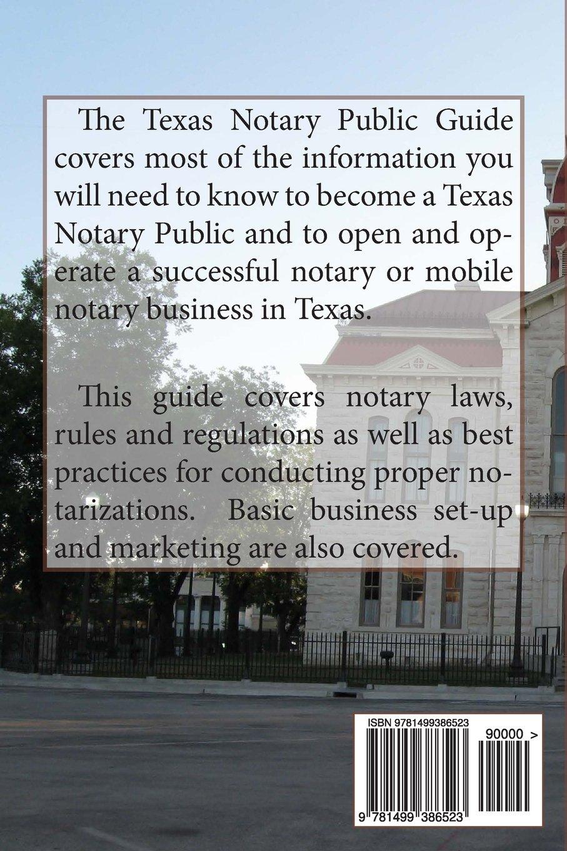 Texas Notary Public Guide: A Practical Guide For Notaries Public In Texas:  Jason Koneman