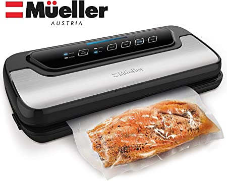 Automatic Vacuum Air Sealing System For Food Preservation w/Starter Kit