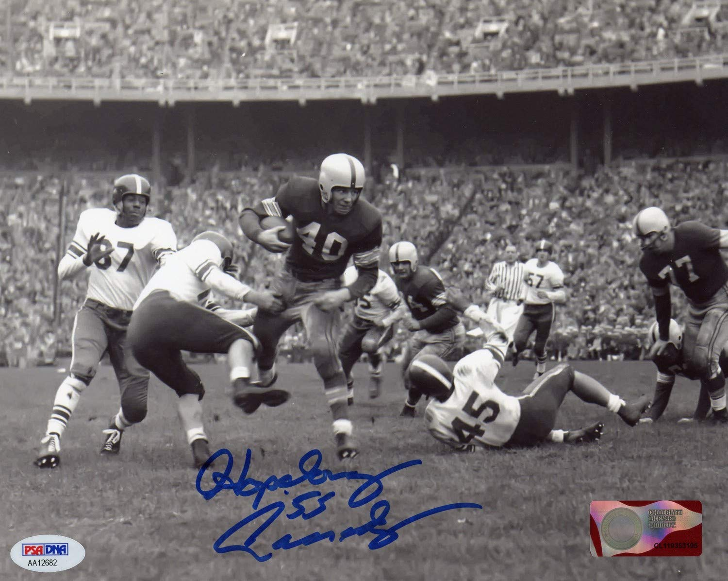 Hopalong Cassady Ohio State Buckeyes Autographed Signed 8x10 Photo PSA/DNA Authentic
