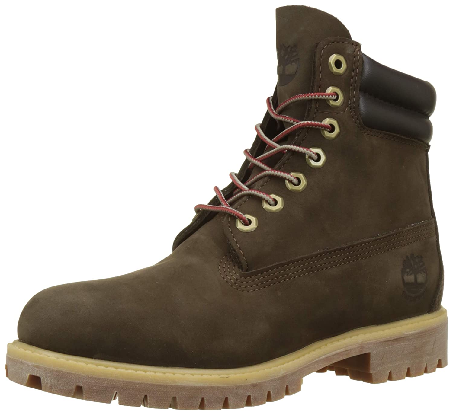 TALLA 49 EU. Timberland 6 In Double Collar Waterproof, Botas para Hombre