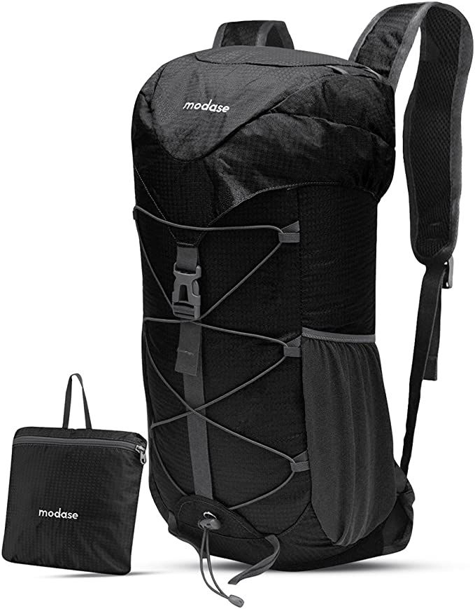 WOOMADA 16L Ultra Lightweight Packable Water Resistant Travel Hiking Backpack Daypack Handy Foldable Camping Outdoor Backpack