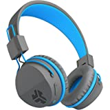 JLab Audio Neon Bluetooth Folding On-Ear Headphones   Wireless Headphones   13 Hour Bluetooth Playtime   Noise Isolation…