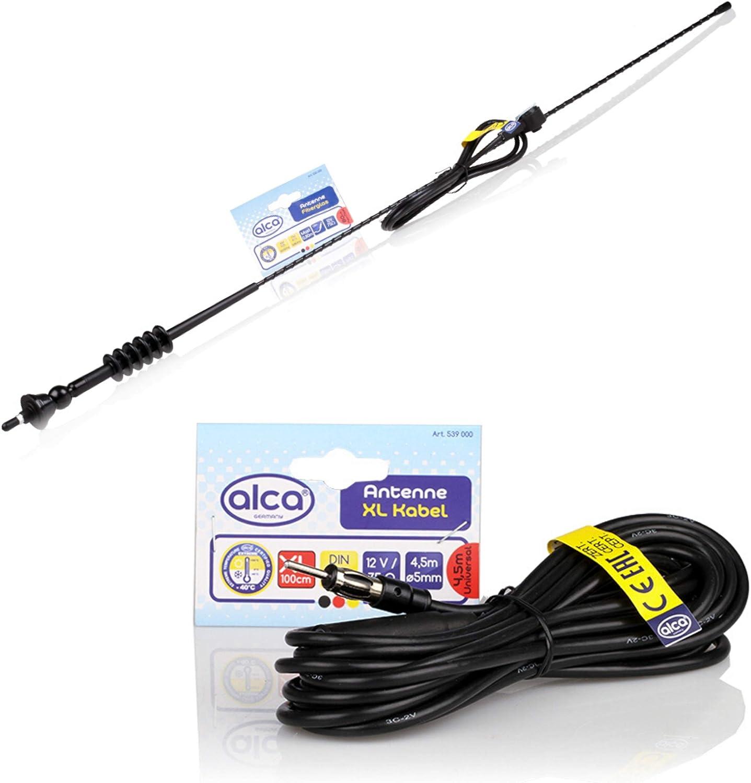 Universale di qualit/à antenna auto antenna radio FM//AM tetto montante del parafango 80cm bee sting